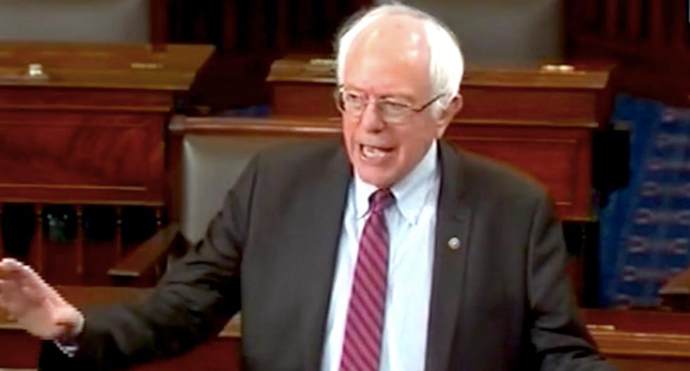 Bernie Sanders asks why drug, once free, now costs $375,000