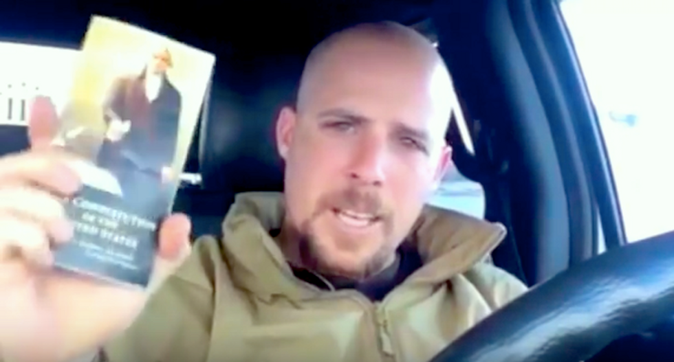 High-profile militant Jon Ritzheimer flees home to Arizona hours before feds spring trap