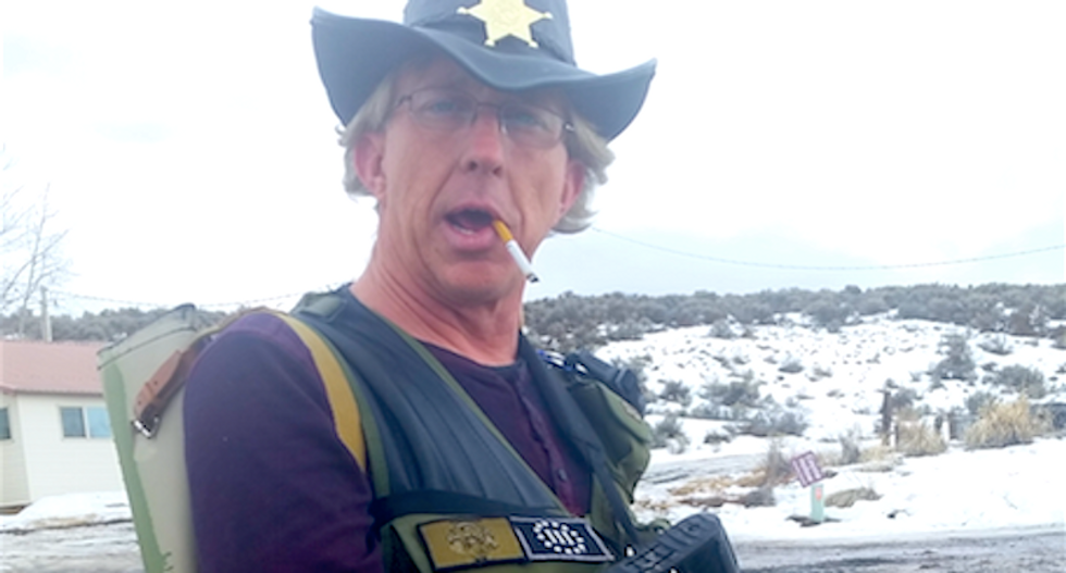 Another Bundy militant arrested after threatening to 'start shooting federal law enforcement'