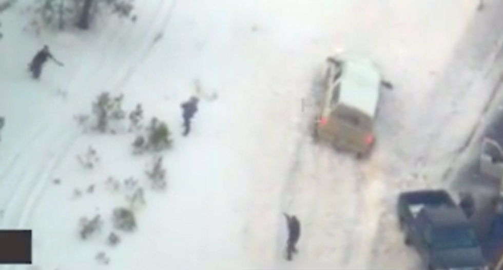WATCH: FBI releases LaVoy Finicium shooting video showing he went for his gun — twice