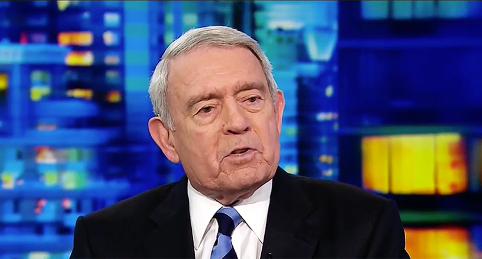 Dan Rather nails Trump for being 'mean as a wolverine': It's the first time in history we've had a president like him