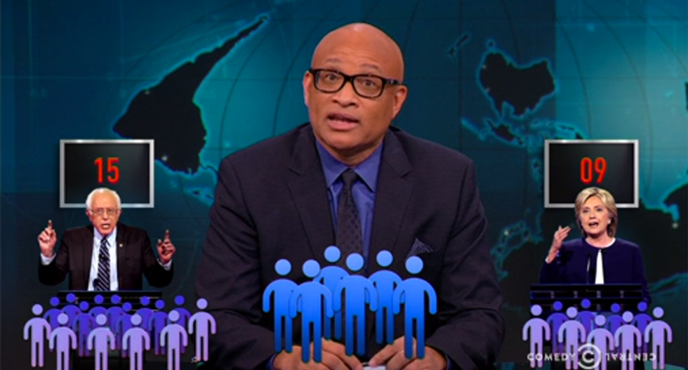 Larry Wilmore mocks New Hampshire for its 'Merica math' super delegate system