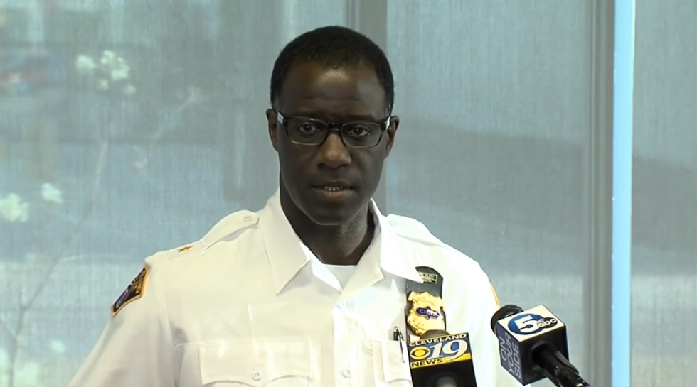 WATCH: Cleveland Police Department holds press conference about manhunt for Facebook Live killer
