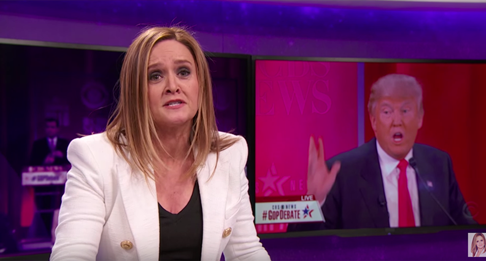 Samantha Bee 'apologizes' to Eric Trump -- then trolls him with barrage of hunting pictures