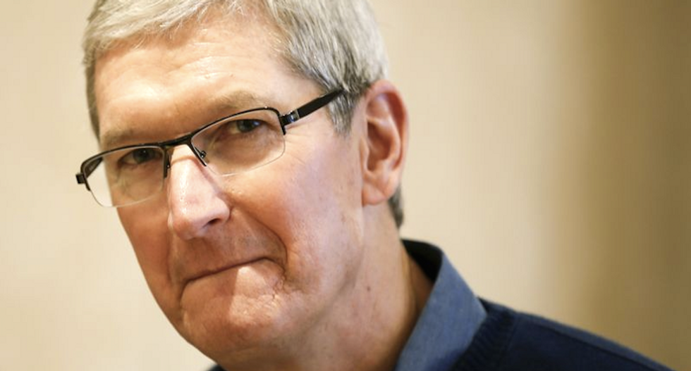 Apple CEO Tim Cook opposes court order to help FBI unlock San Bernardino shooter's iPhone