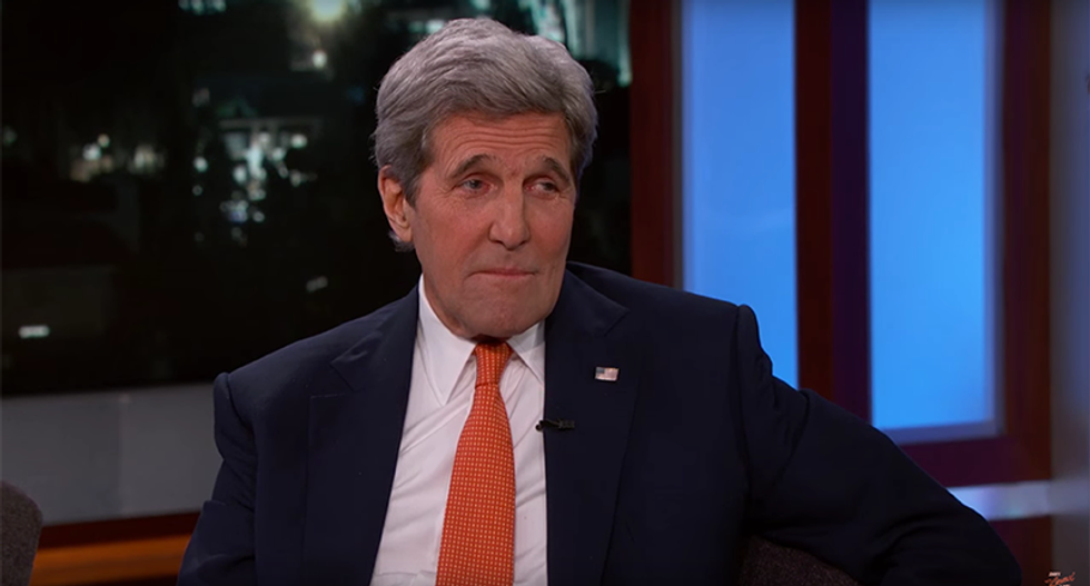 John Kerry says world leaders already hate Donald Trump: 'I hear about it everywhere'