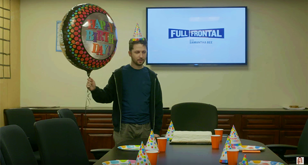 Samantha Bee's birthday party for Jeb perfectly mocks his hilariously pitiful campaign