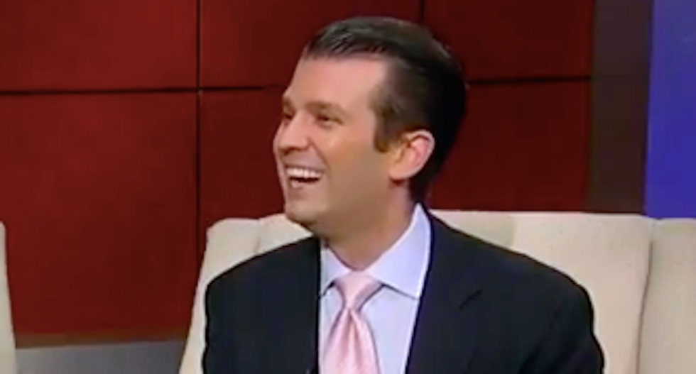 Trump Jr. offers to pay for black celebrities to leave US when President Trump is elected