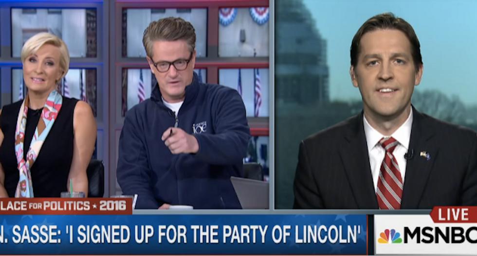 'Morning Joe' segment goes off the rails when MSNBC host attacks Trump-hating Tea Party senator