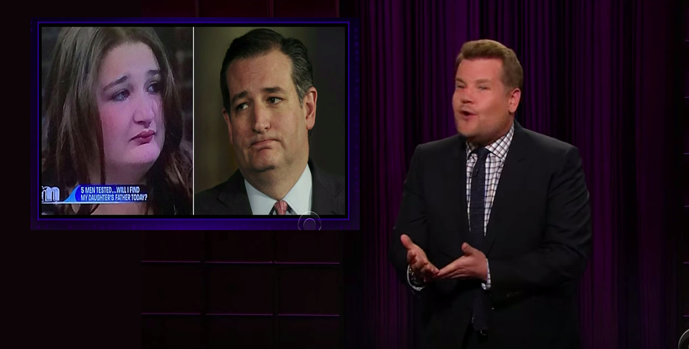 This Maury Povich guest looks an awful lot like Ted Cruz in drag
