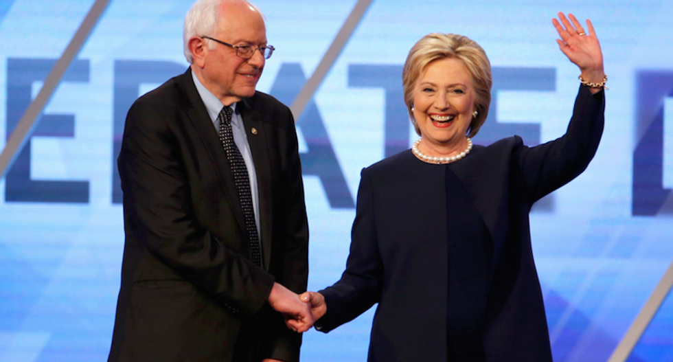 Sanders raises more cash but Clinton is getting more bang for her bucks in votes rolled up