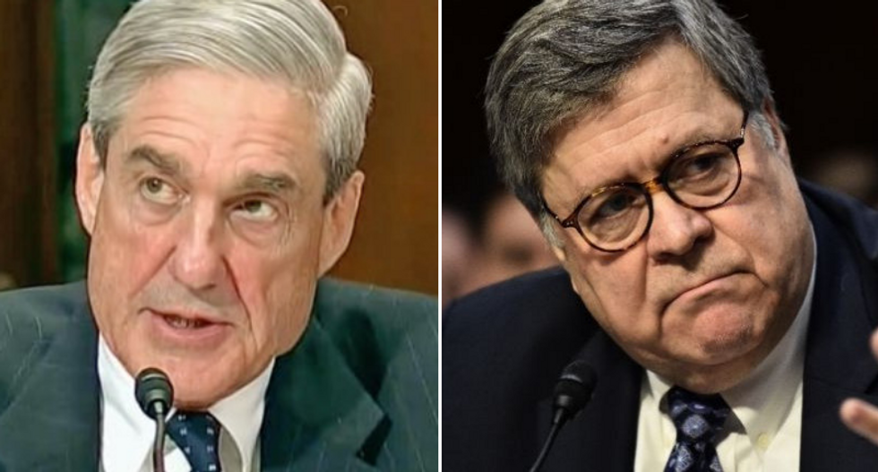 AG Bill Barr killed 7 Robert Mueller lines of investigations -- 10 days after he submitted his report