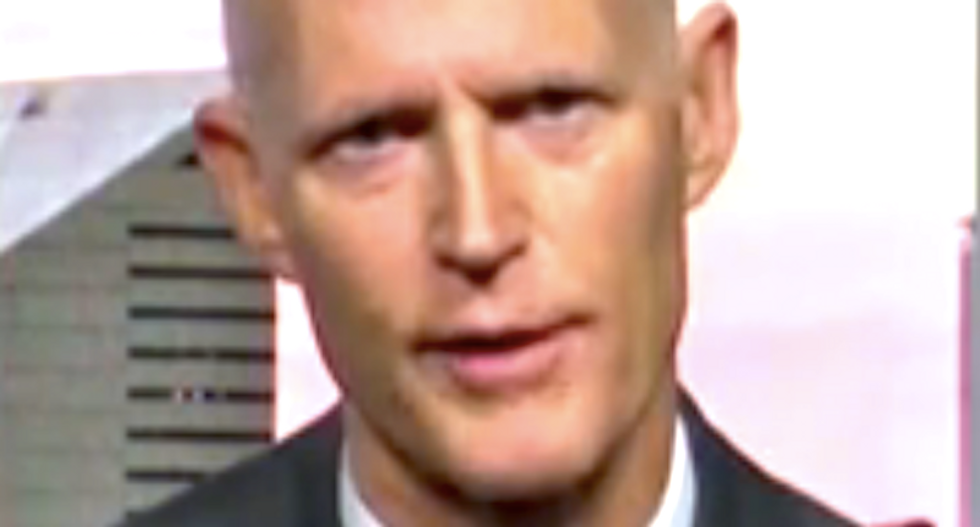 Gov. Rick Scott refuses to rule out mob violence if Trump is passed over as GOP nominee