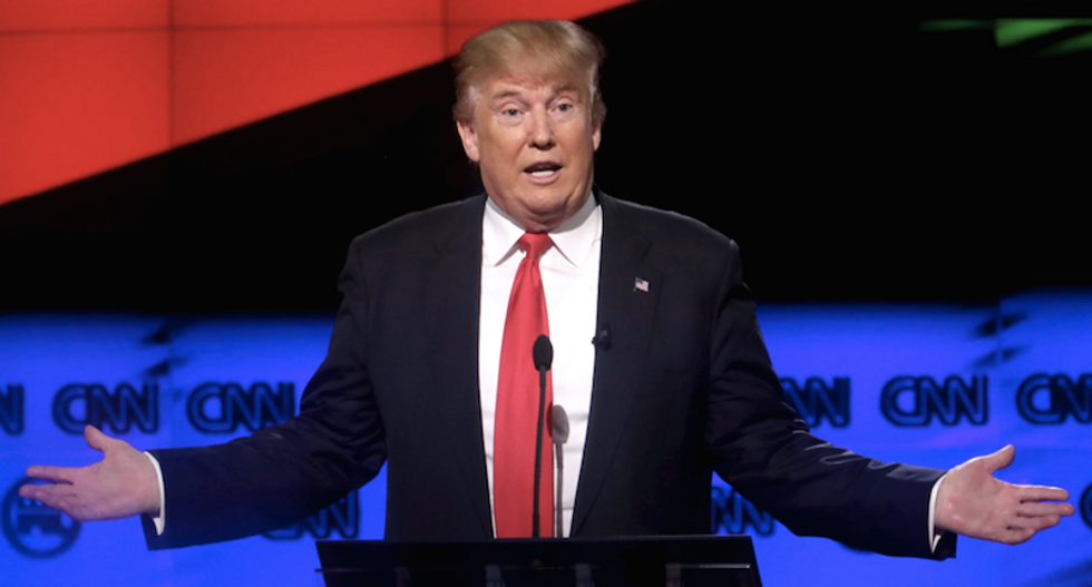 Trump advisors insist to GOP donors: He will evolve from 'the part that he's been playing'