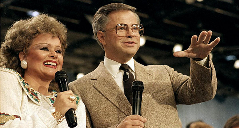 WATCH: Jim Bakker's sex scandal that destroyed his career is detailed in new explosive documentary