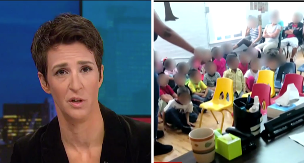 Rachel Maddow obtains video of inside New York detention facility from woman who quit her job