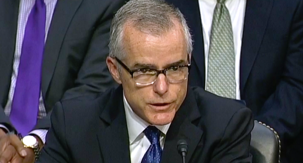 BOMBSHELL: Andrew McCabe claims DOJ discussed whether Pence and other White House officials would oust Trump