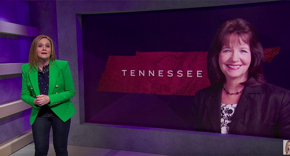 Samantha Bee destroys hateful GOP lawmaker Sheila Butt — the worst person in Tennessee