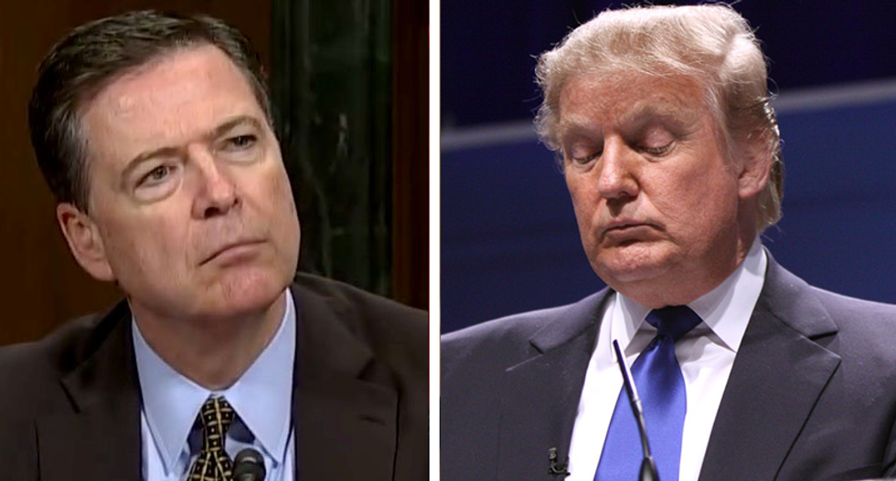 James Comey book divulges Trump team had no questions on Russian interference