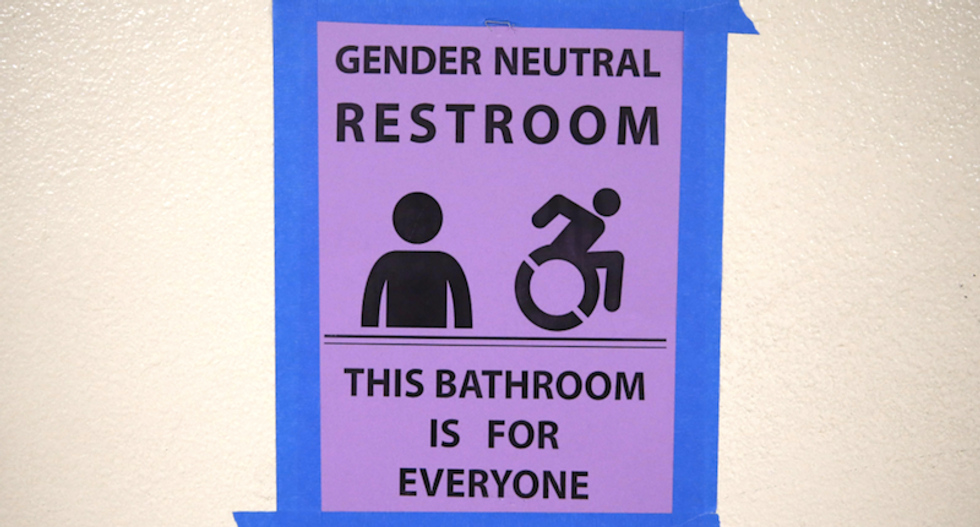 Older men -- not women or young people -- are afraid of using the bathroom with transgender people: poll