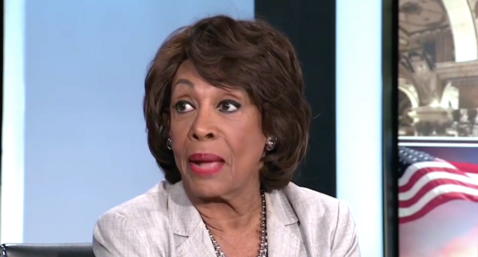 Maxine Waters launches new attack on Trump, Sessions