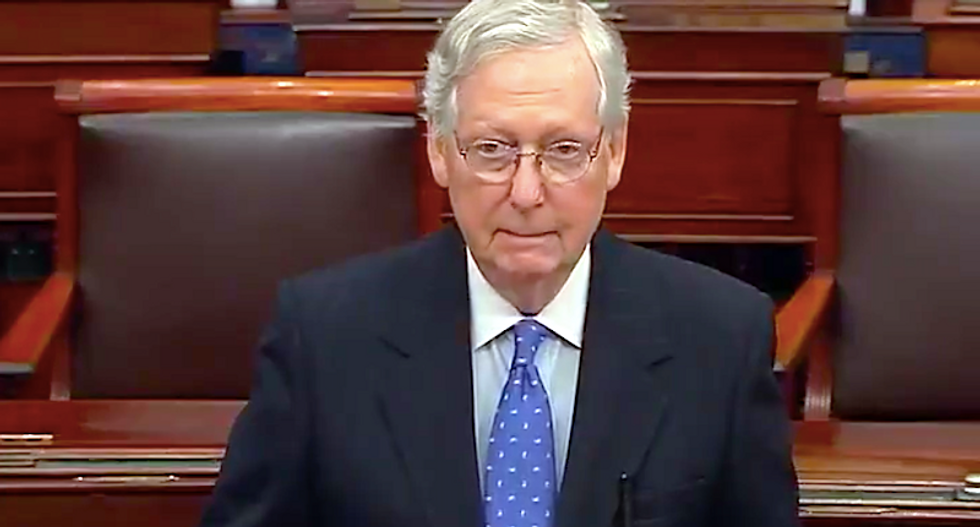 McConnell defends Trump's refusal to concede to Biden -- he has 'every right to look into allegations and request recounts'
