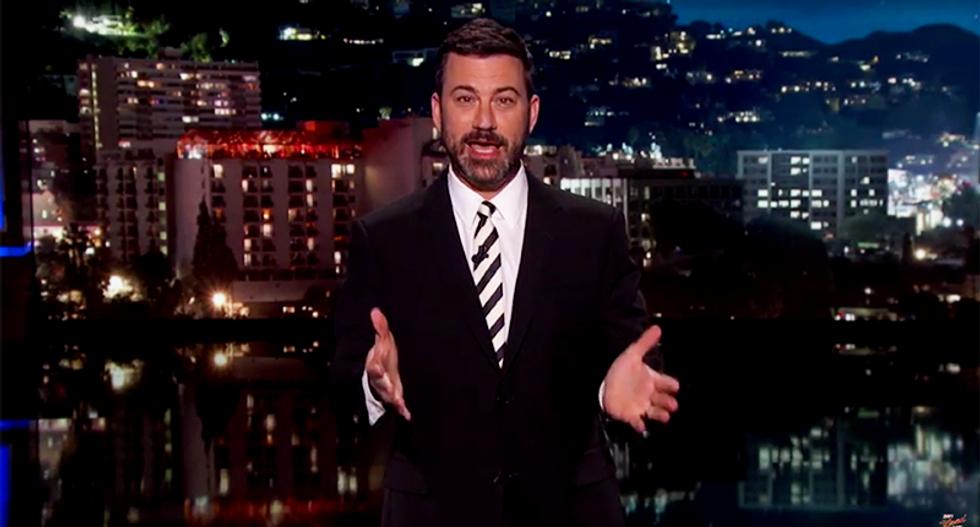 Jimmy Kimmel slams horrifyingly hypocritical Dennis Hastert: 'He abused at least five boys'