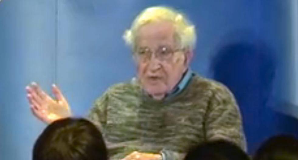 Noam Chomsky: Bernie Sanders isn't a radical -- he's basically Eisenhower