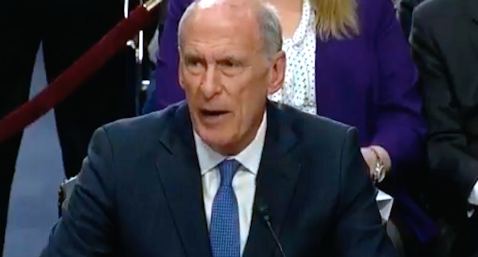 WATCH: Trump's own intelligence chief obliterates his claims of wiretapping