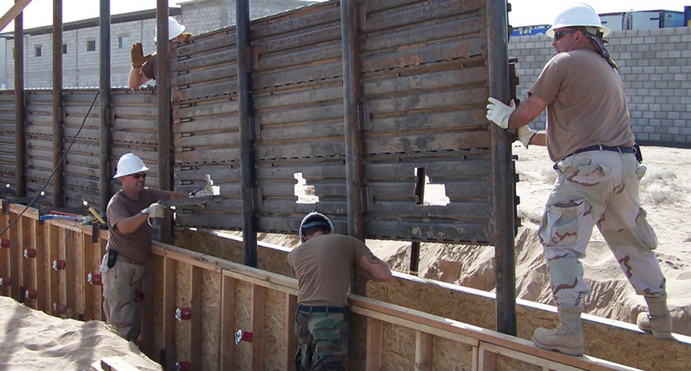Border agents admit smugglers are cutting through Trump's wall with a common household power tool: report
