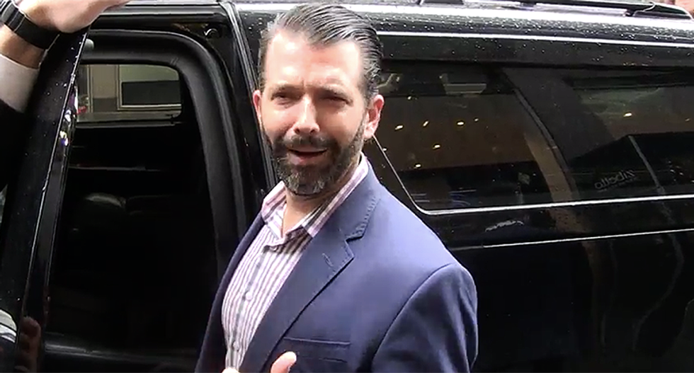 'Do you have a mirror?' Donald Trump Jr goes down in flames trying to smear Hunter Biden for nepotism