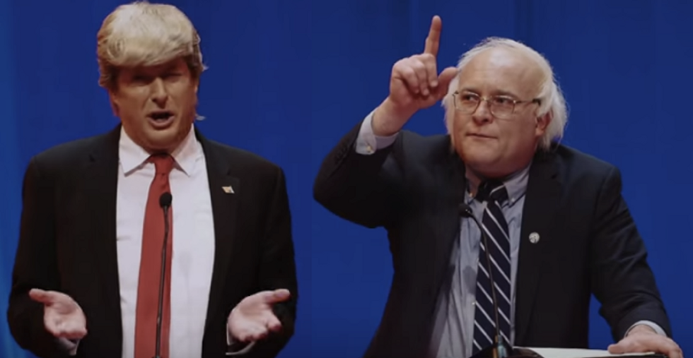 Watch: The Bernie-Trump Debate has already happened (between two comedians)