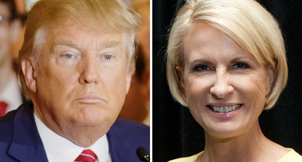 Joe Scarborough says Trump was so impressed with Mika's 'facelift' he asked for the doctor's name 10 times