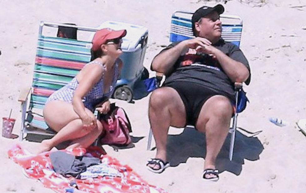 'It's beyond words': Christie's own lieutenant expresses disgust on social media over his beach pics
