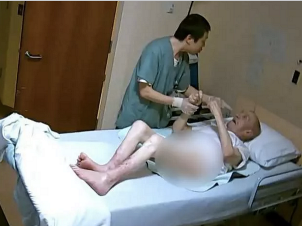 WATCH: Helpless 89-year-old dementia patient punched 11 times by cold-hearted care worker
