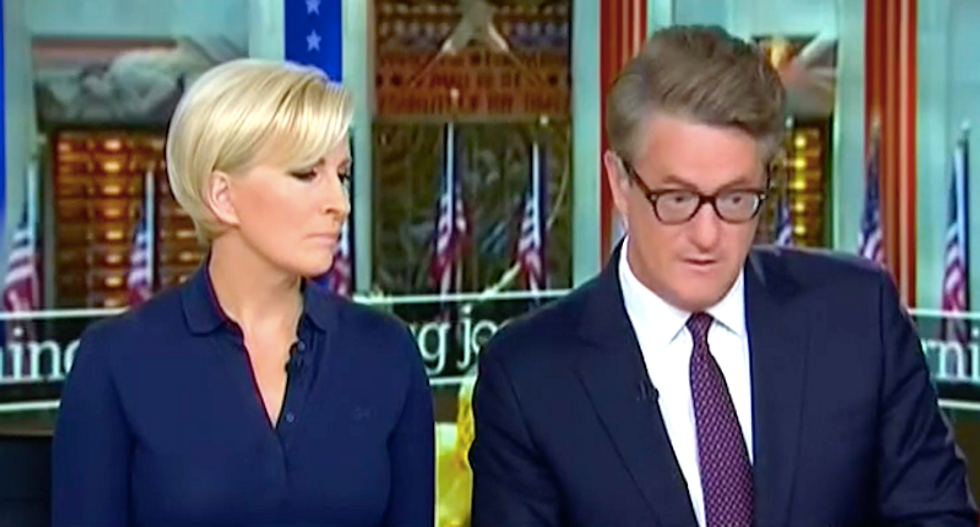'Nothing short of disgusting': Morning Joe rips Trump for attacking intel and media 'on foreign soil'