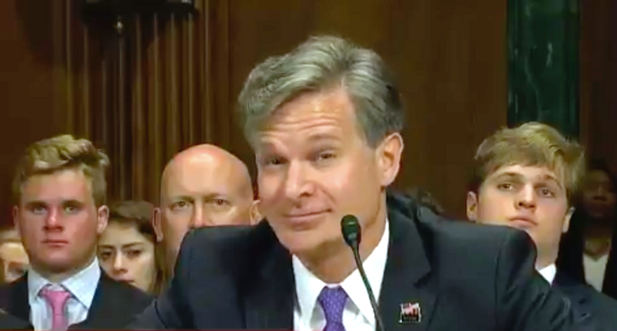 What Chris Wray didn't say: Unpacking the FBI chief's wobbly Capitol riot testimony