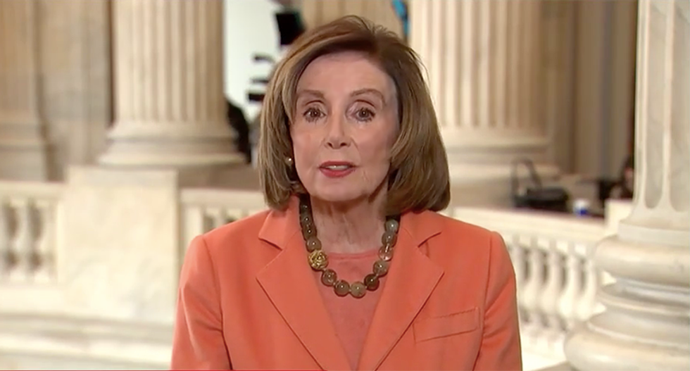 Nancy Pelosi bashes Mitch McConnell for making excuses for Trump's COVID-19 response: 'They can't handle their jobs'