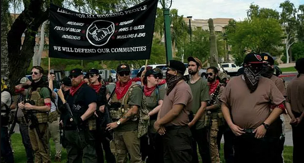 'Guns are fine -- racism is not': Armed redneck lefties are waging a different kind of war on Fascism