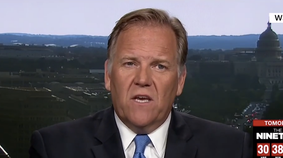 'Don't let the door hit you on the ass on the way out': Former conservative Rep blasts Bannon