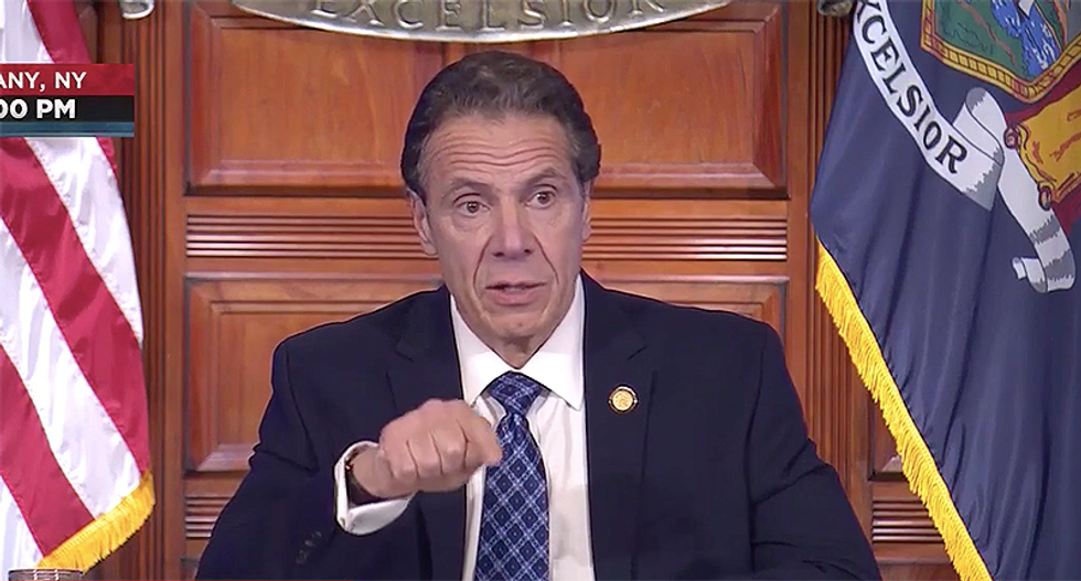 Gov. Cuomo uses his brother's coronavirus to explain why people must stop 'your stupid actions' and social distance