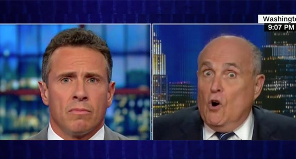 CNN's Cuomo demolishes Rudy Giuliani's conspiracy theory about Biden and Ukraine