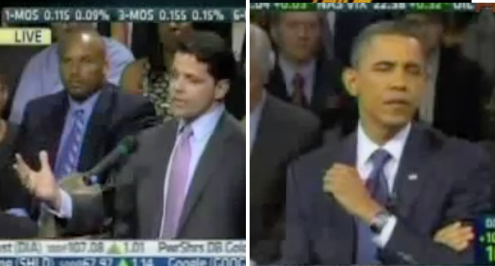 WATCH: Obama once gave new Trump hire Scaramucci an embarrasing Wall St. history lesson