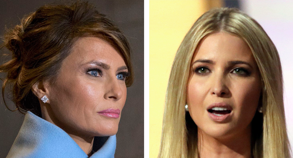 Melania annoyed that Ivanka invades 'her turf' and is often elevated above her: New tell-all book