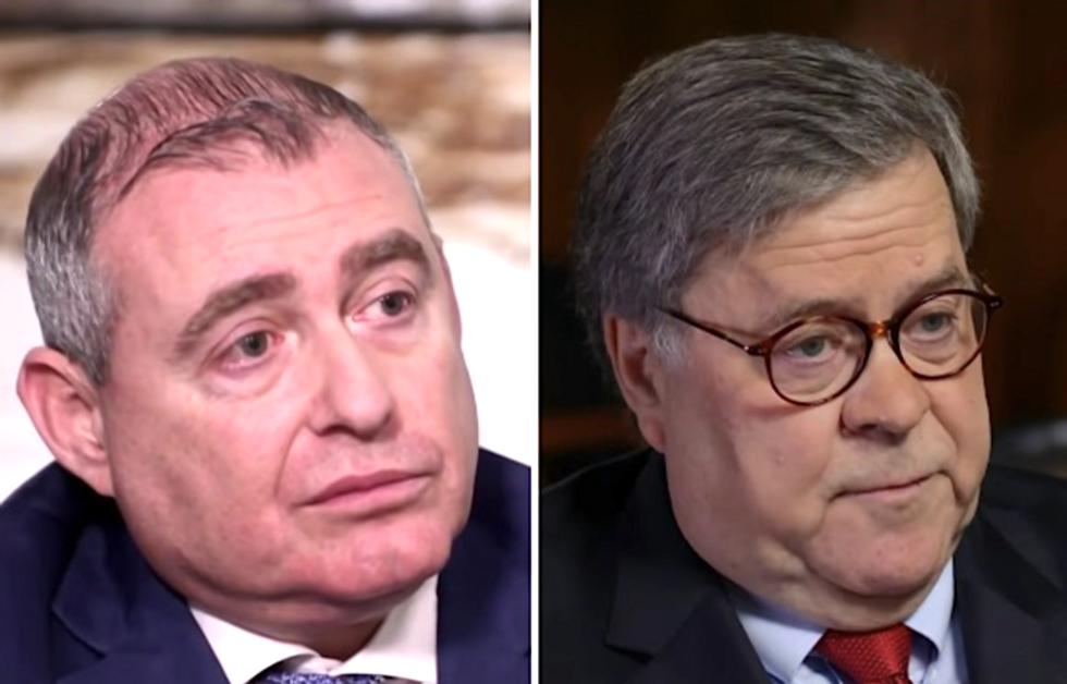 Lev Parnas calls on Bill Barr to recuse himself from investigation due to 'conflict of interest'