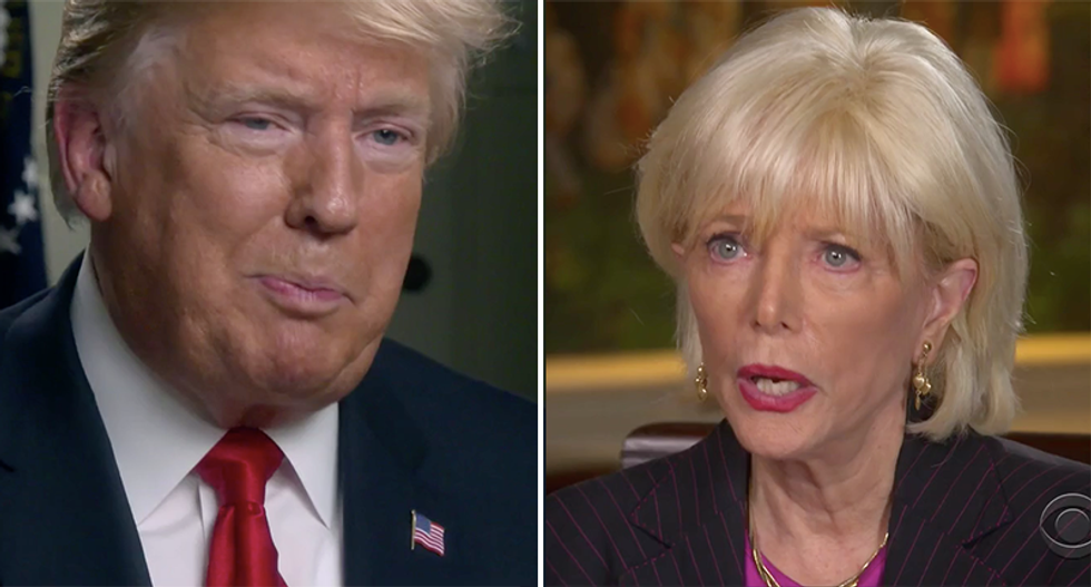 'I'm president and you're not': Trump's '60 Minutes' interview goes off the rails when Stahl demands answers on immigration and Dr. Ford