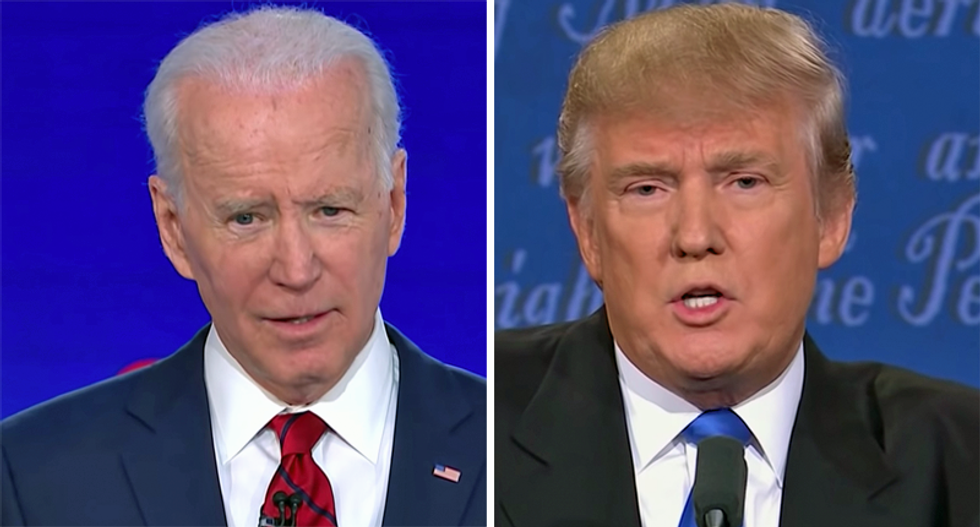'You're the worst president America has ever had!' Biden slams Trump for tax dodges