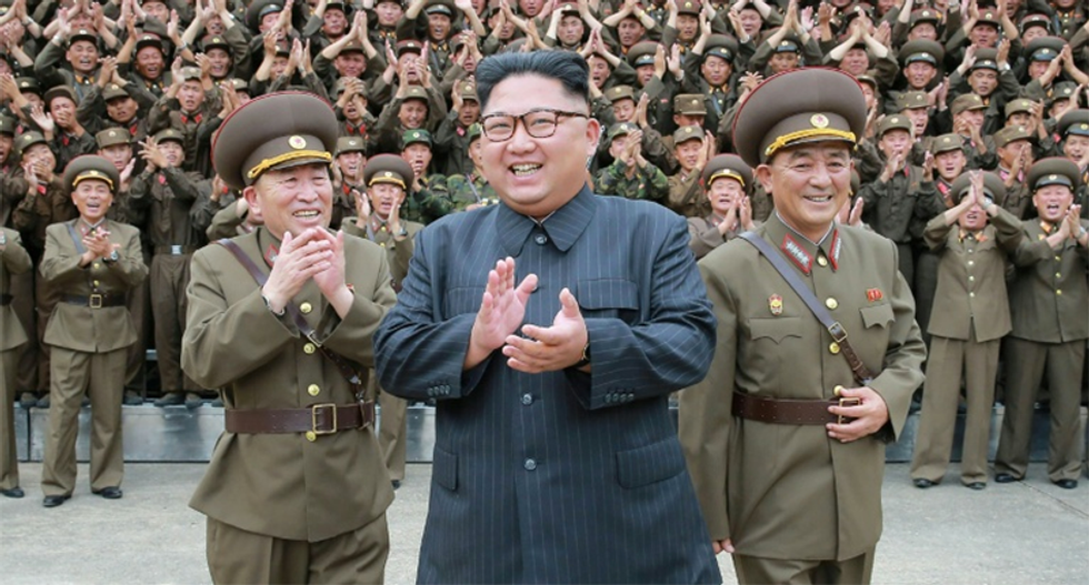 Despite Trump's 'fire and fury' threat - North Korea fires missile over Japan into the Pacific