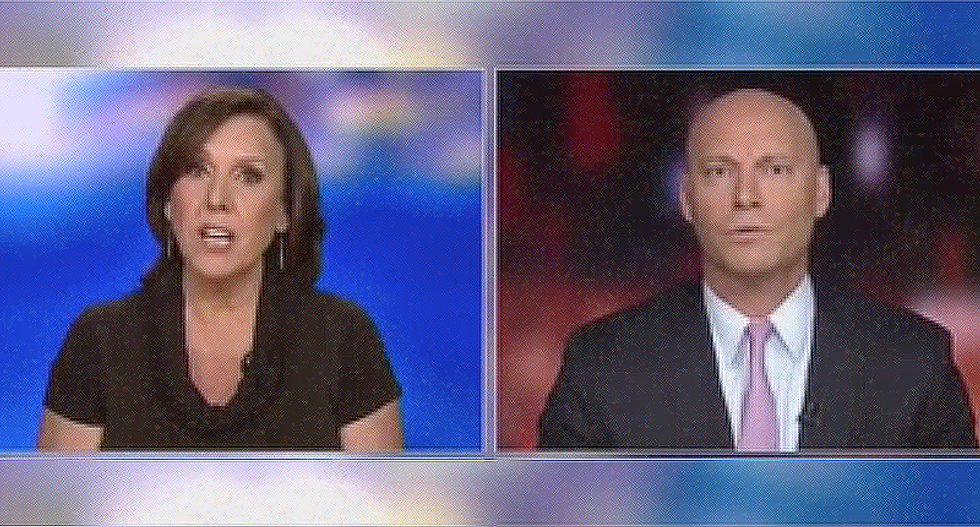 'How dare you!': Watch practicing Catholic Joan Walsh nail ex-Trump staffer who accuses her of being anti-religion