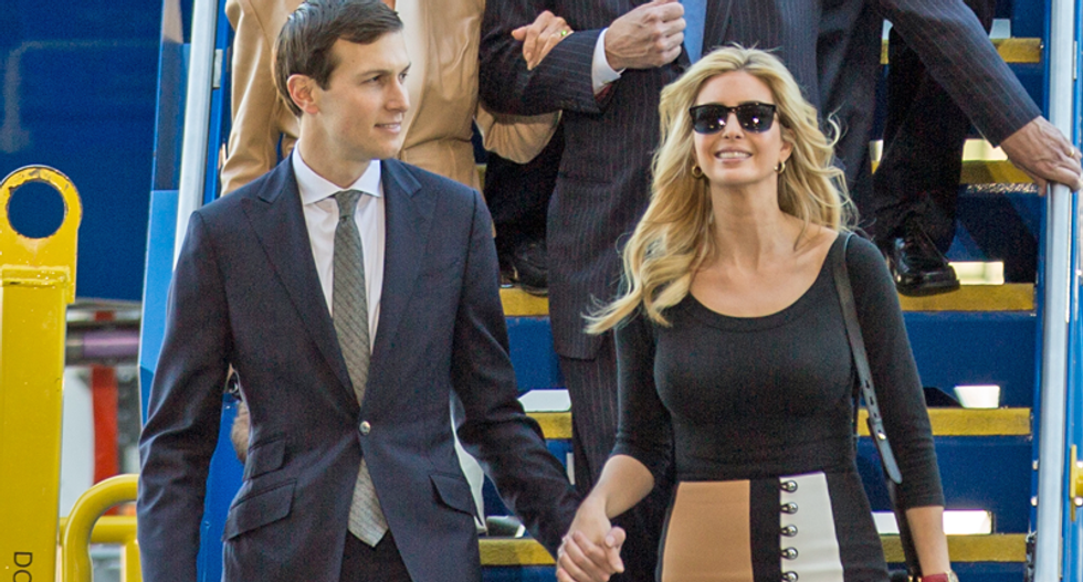 VIDEO: How Jared and Ivanka's greed and ambition compromise US foreign policy